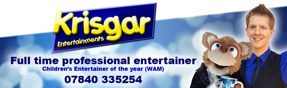 childrens entertainer in bedfordshire Krisgar Entertainments birthday party